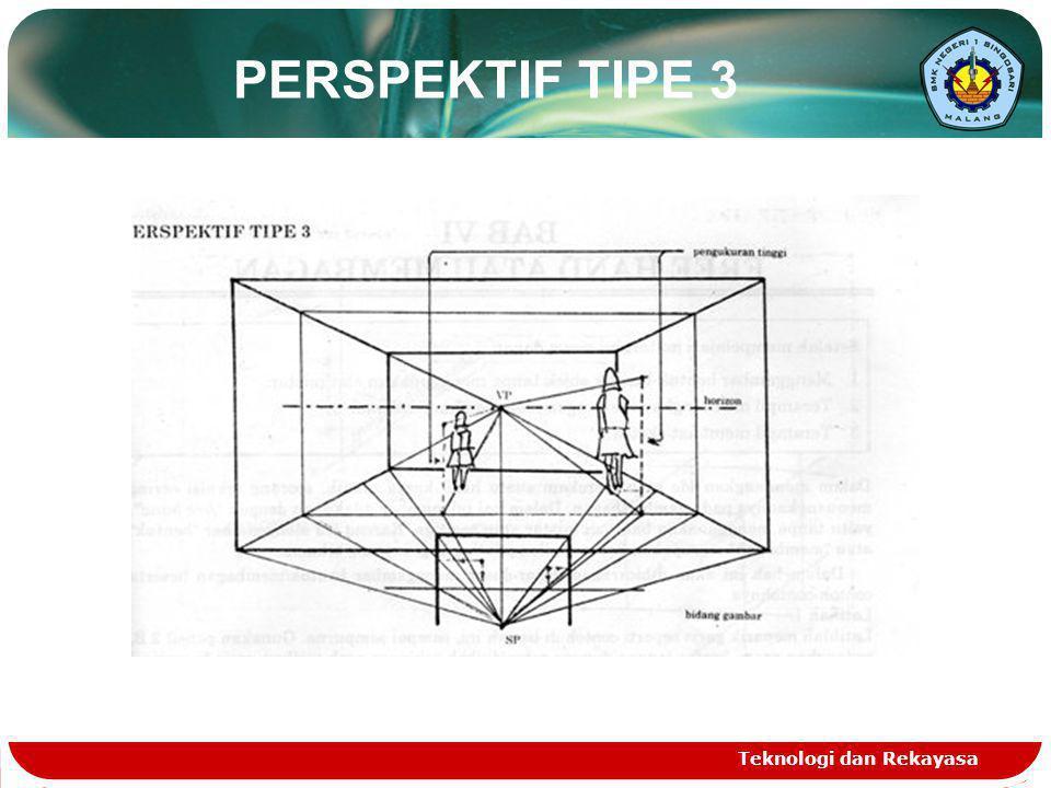 Teknologi dan Rekayasa PERSPEKTIF TIPE 3