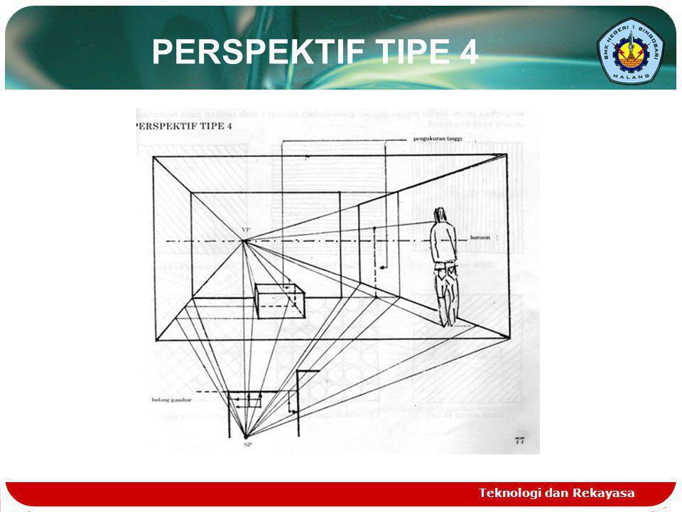 Teknologi dan Rekayasa PERSPEKTIF TIPE 4