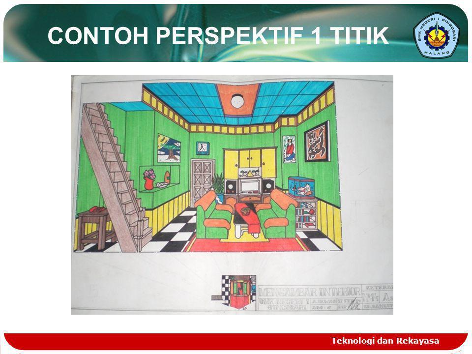 Teknologi dan Rekayasa CONTOH PERSPEKTIF 1 TITIK