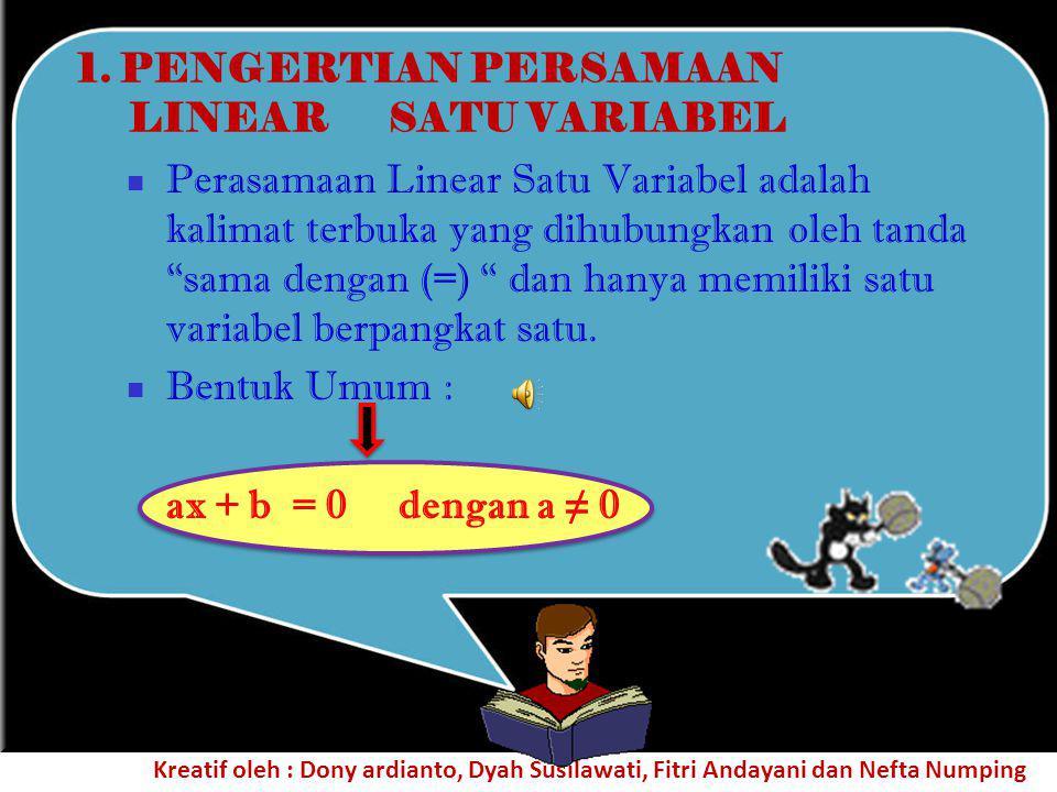 4. Kalimat-kalimat di bawah ini merupakan contoh kalimat terbuka.