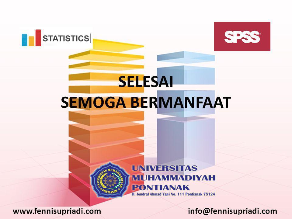 www.fennisupriadi.cominfo@fennisupriadi.com SELESAI SEMOGA BERMANFAAT
