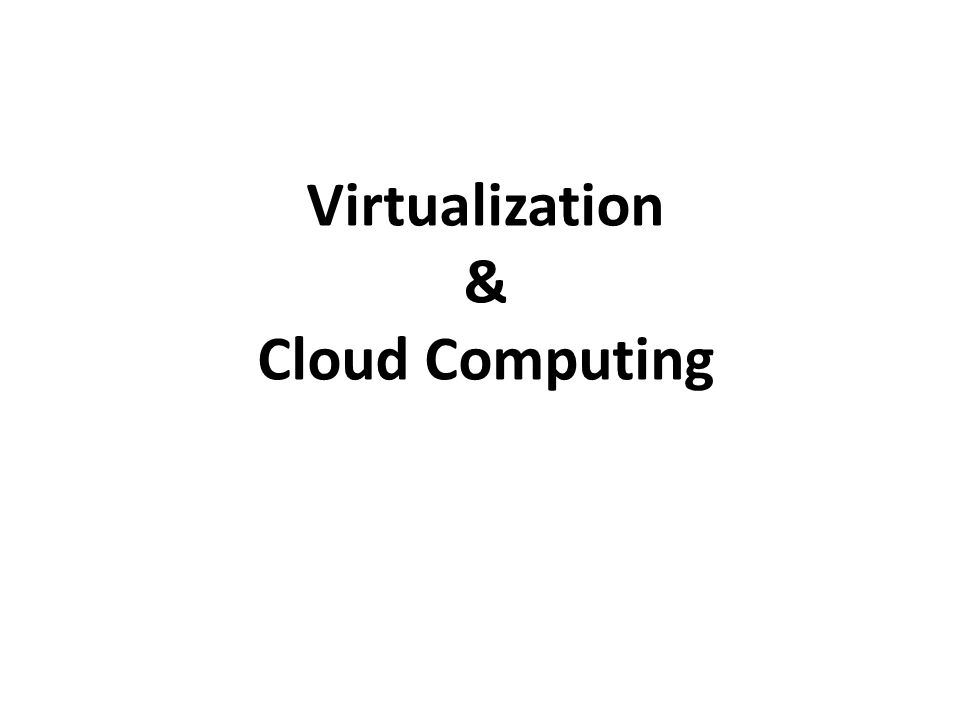 Konsep Virtual Server Virtual Machine Monitor (VMM) lapisan antara Guest OS dan hardware