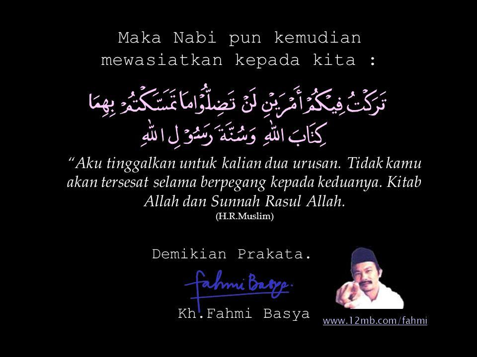 Paling tidak pernyataan itu mengingatkan kita untuk tidak menyepelekan Al-Qur'an, walau hanya sebuah huruf tanpa makna.