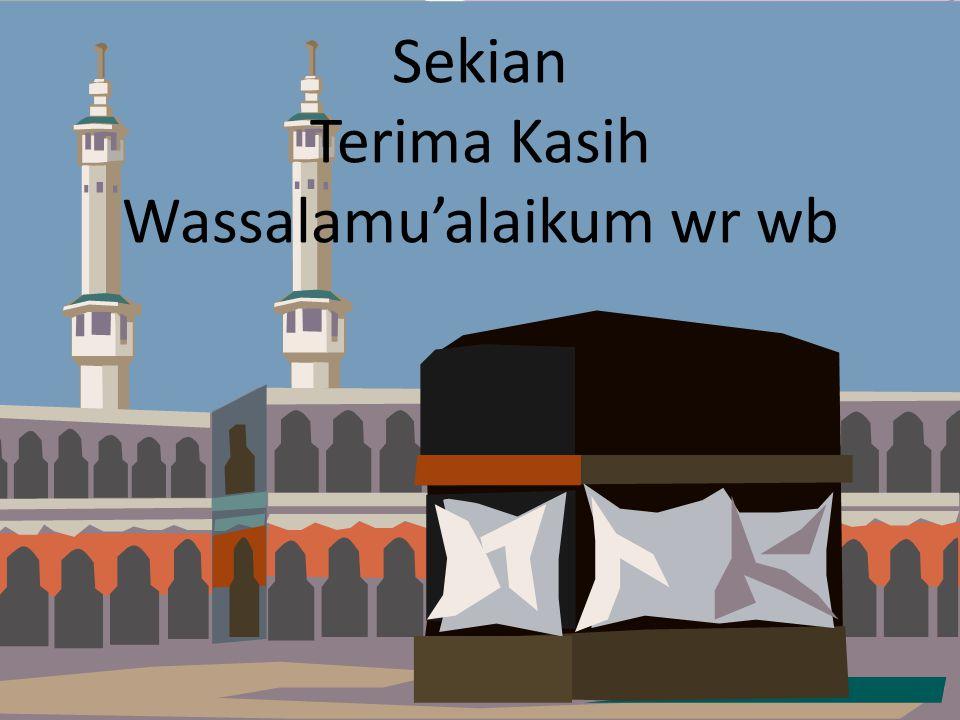 dept of acct - umy aps-rizal, aji & ahim (2009) Sekian Terima Kasih Wassalamu'alaikum wr wb