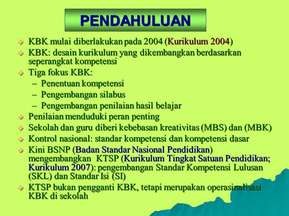 PENILAIAN PEMBELAJARAN BAHASA DAN SASTRA INDONESIA Burhan Nurgiyantoro FBS/PPs Universitas Negeri Yogyakarta 7 Januari 2008