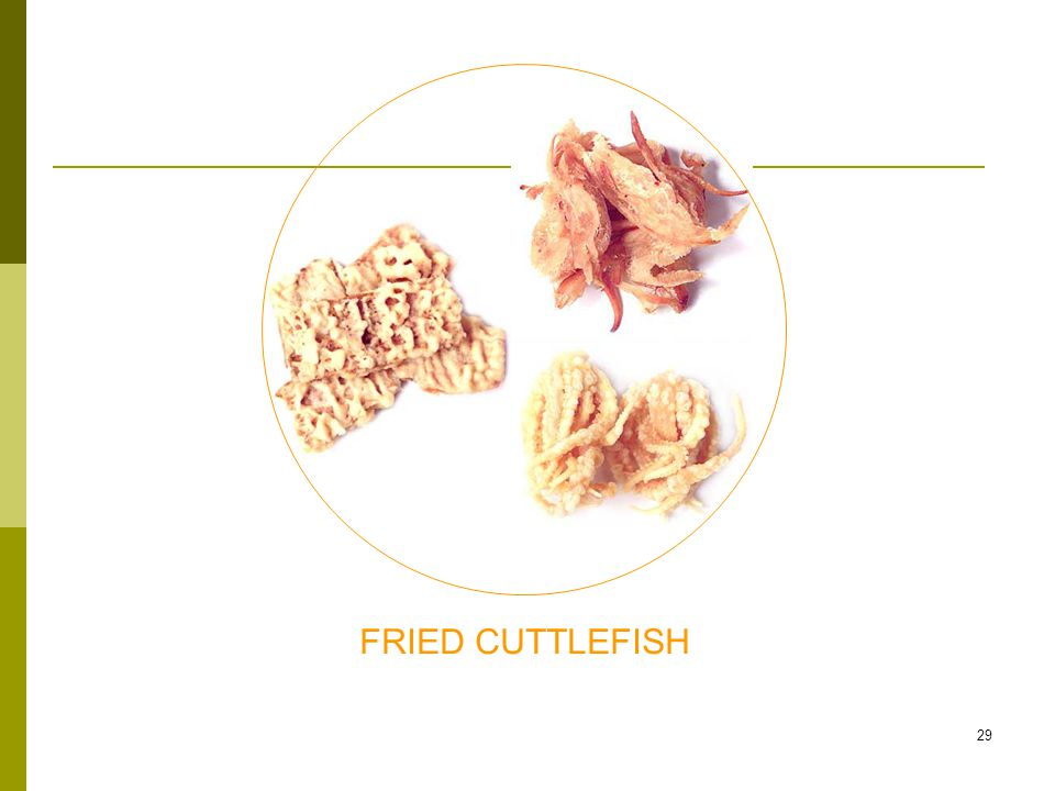 29 FRIED CUTTLEFISH