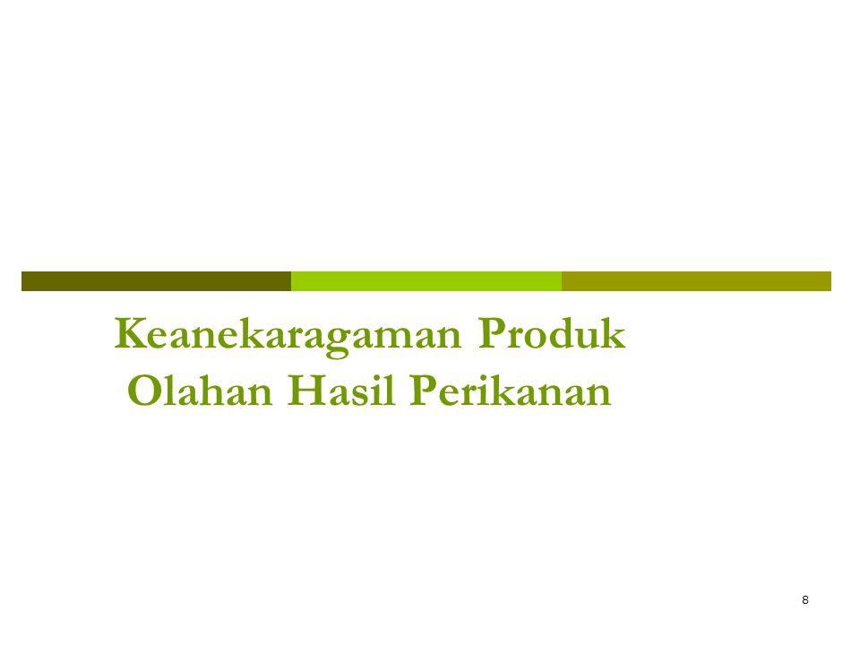 Keanekaragaman Produk Olahan Hasil Perikanan 8