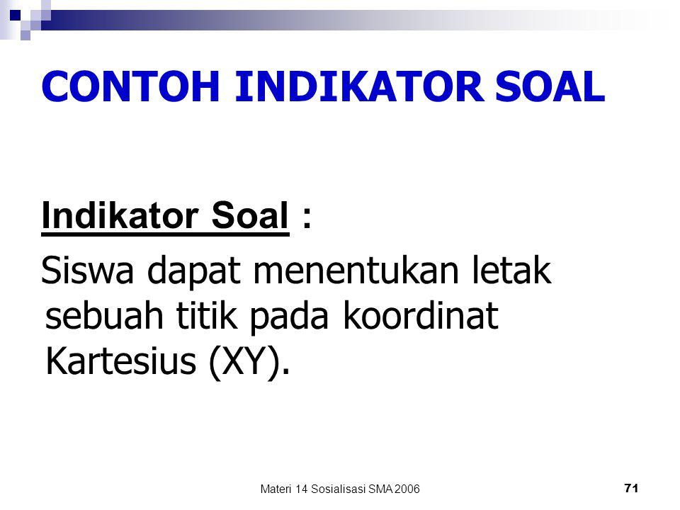 Materi 14 Sosialisasi SMA 2006 70