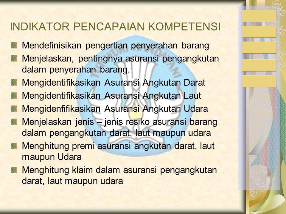 """Kompetensi/sub kompetensi: Melakukan Pembungkusan, Pengepakan, Penimbangan, Penyerahan / Pengiriman Barang """""""