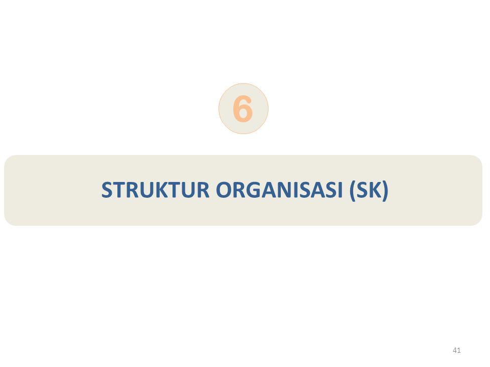 41 STRUKTUR ORGANISASI (SK) 6