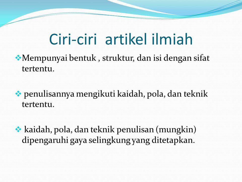 Nama Penulis Tanpa gelar akedemik/profesional.