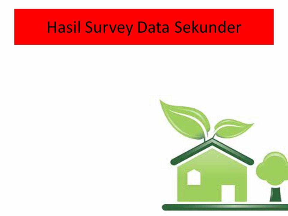 Hasil Survey Data Sekunder