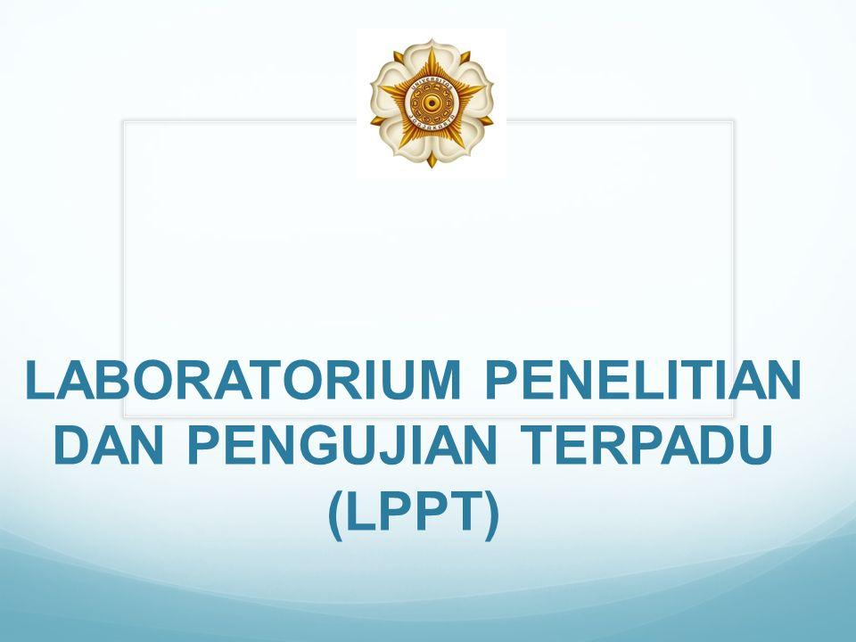 LABORATORIUM PENELITIAN DAN PENGUJIAN TERPADU (LPPT)
