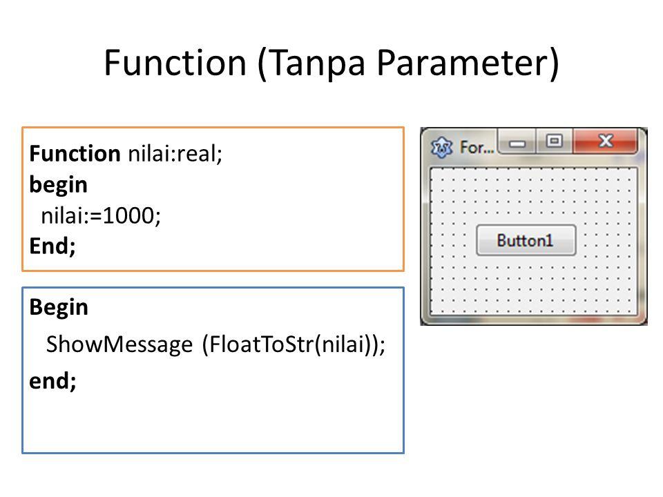 Unit Pindahkan Function2 tsb ke unit tersendiri.