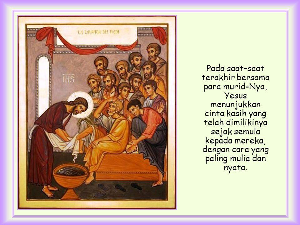 Dalam kata-kata ini terdapat kekuatan kasih Allah serta kelembutan kasih seorang saudara.