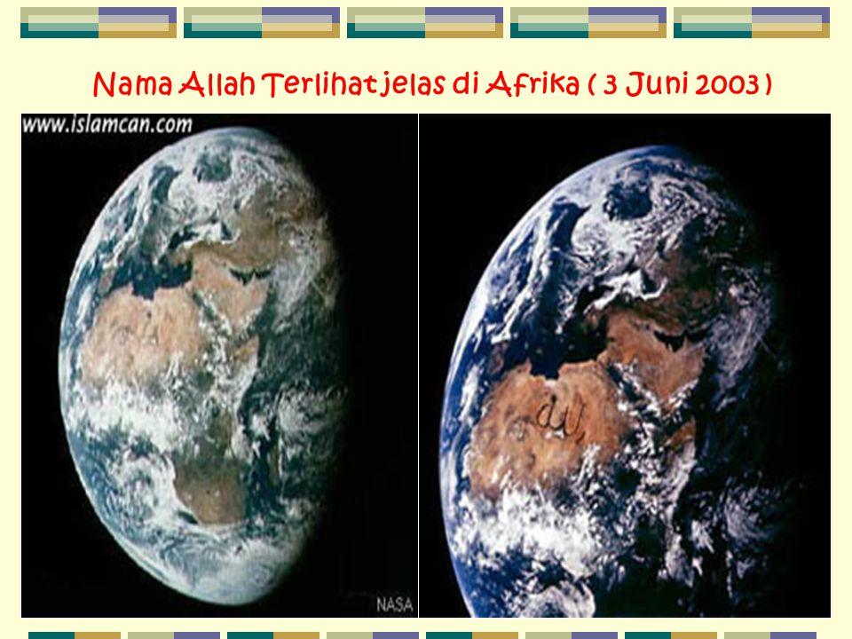 N ama Allah Terlihat jelas di Afrika ( 3 Juni 2003 )
