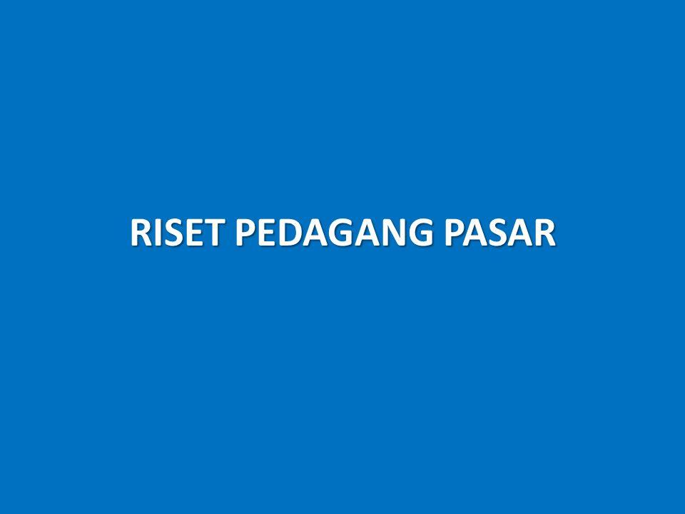 RISET PEDAGANG PASAR