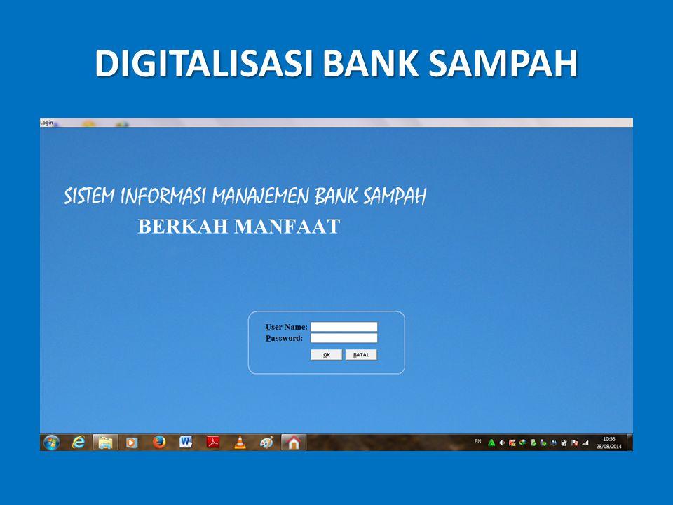 DIGITALISASI BANK SAMPAH