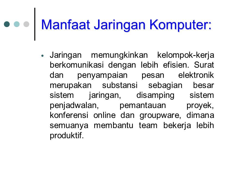 Tipe Jaringan Berdasar Jarak Jangkauan: Local Area Network (LAN).