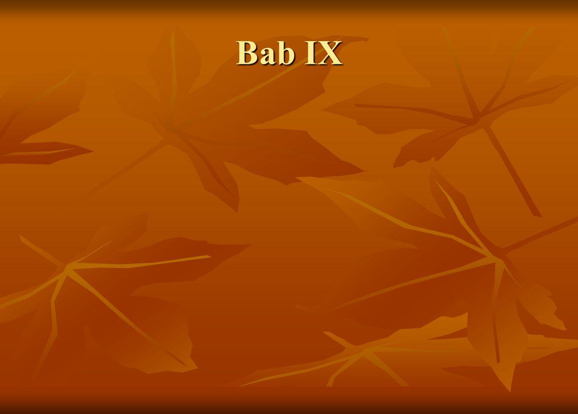 Bab IX