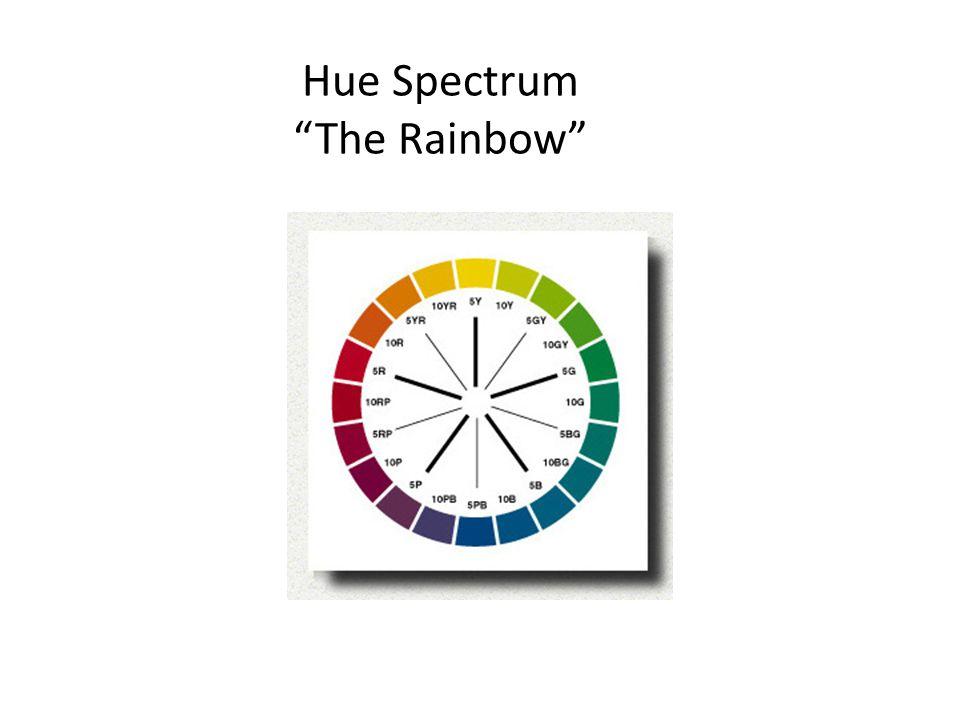 "Hue Spectrum ""The Rainbow"""