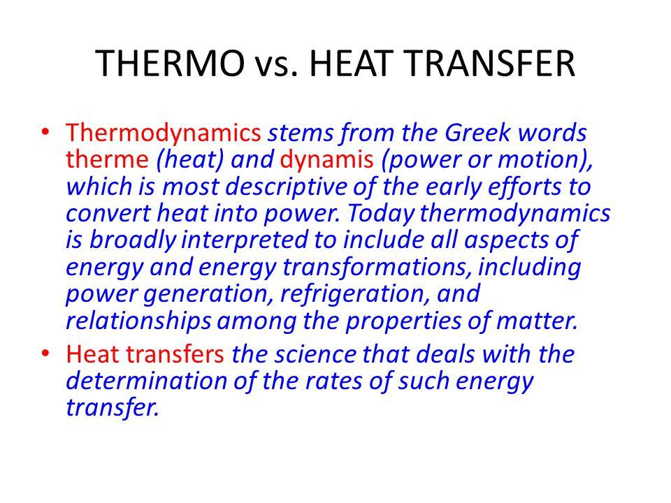 THERMO vs.