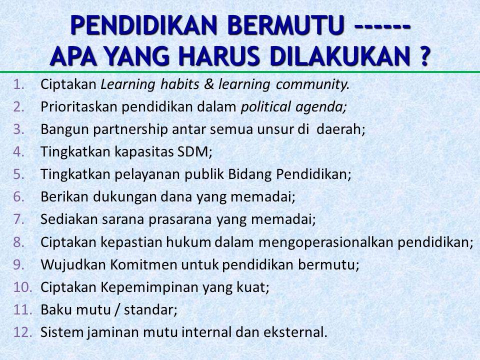 EPILOG PENDIDIKAN BERMUTU bagi sekolah-sekolah Muhammadiyah akan dapat dilaksanakan dengan baik apabila didukung komitmen yang tinggi dan perencanaan yang baik, dilaksanakan secara transparan dan akuntabel.