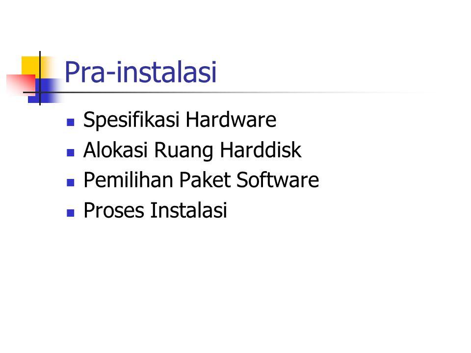 Spesifikasi Hardware Nama device Nama chipset pada device Kegunaan & jenis device