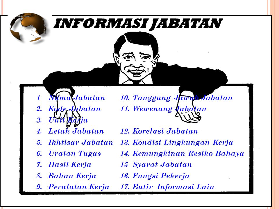 HASIL AKHIR ANALISIS JABATAN INFORMASI JABATAN