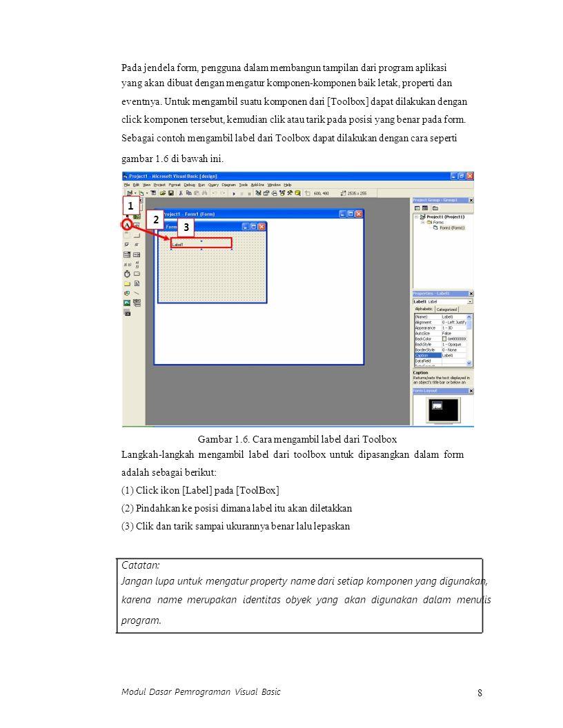 19 http://oke.or.id (2) Buat program untuk menampilkan judul VCD sesuai dengan jenis VCD yang dipilih menggunakan Option Button dan ListBox seperti gambar 2.11 berikut.