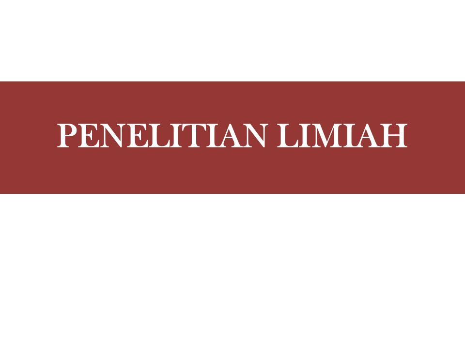 PENELITIAN LIMIAH