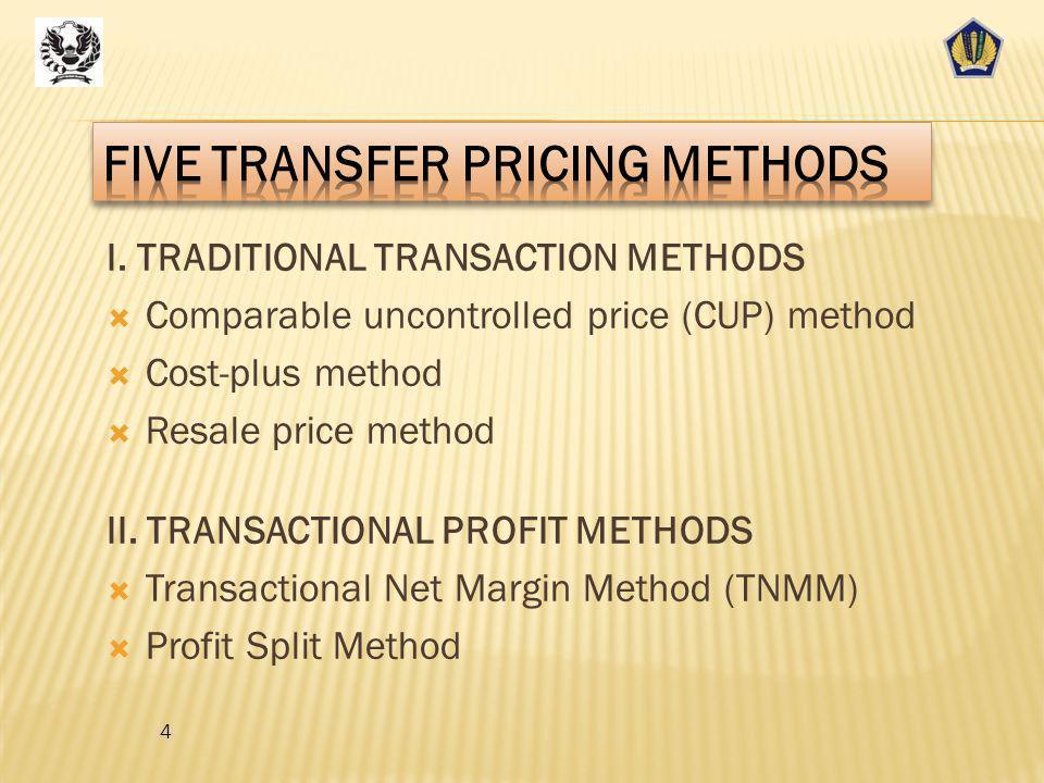 Resale Price Method 34 KeunggulanKelemahanSesuai diterapkan untuk Perbedaan produk kurang signifikan, yaitu kurang berpengaruh material terhadap gross profit margin daripada harga.