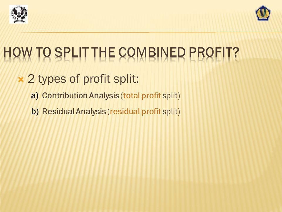 Profit Split (1) 51 KeunggulanKelemahanSesuai diterapkan untuk Lebih fleksibel dalam memperhitungkan specific, possibly unique, facts and circumstances of the associated enterprises that are not present in independent enterprises.