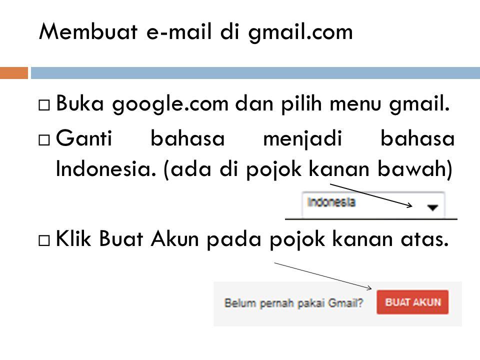 Bagaimana kita bisa mengirim e-mail.