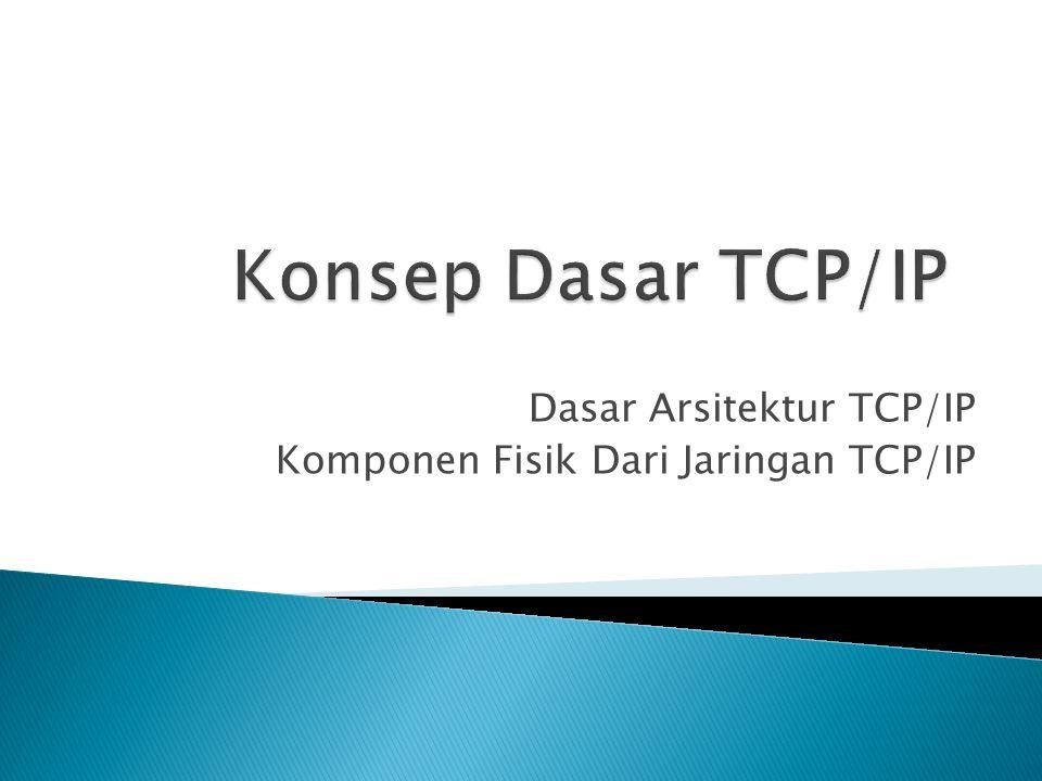  Inti dari protokol TCP/IP sifatnya…(best effort delivery service) protokol IP hanya berjanji dia akan melakukan usaha sebaik-baiknya, agar paket yang dikirim sampai ditujuan jika terjadi salah satu jalur putus .