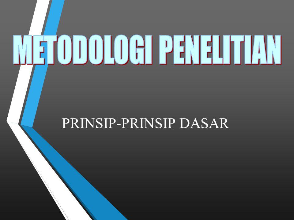 PRINSIP-PRINSIP DASAR