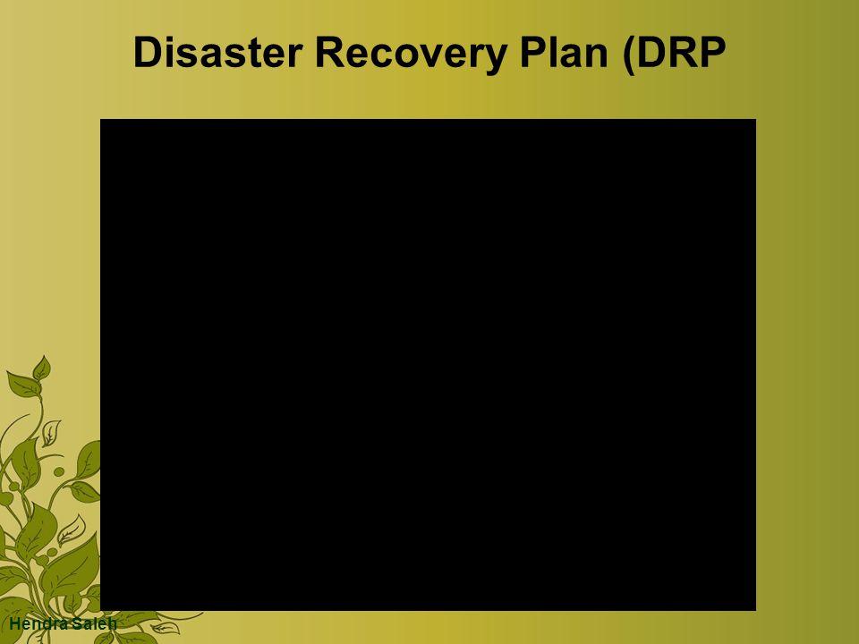 Disaster Recovery Plan (DRP Hendra Saleh