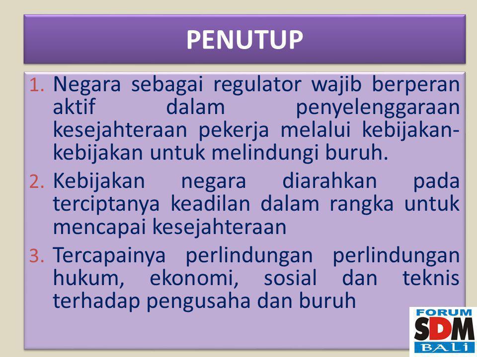 PENUTUP 1.