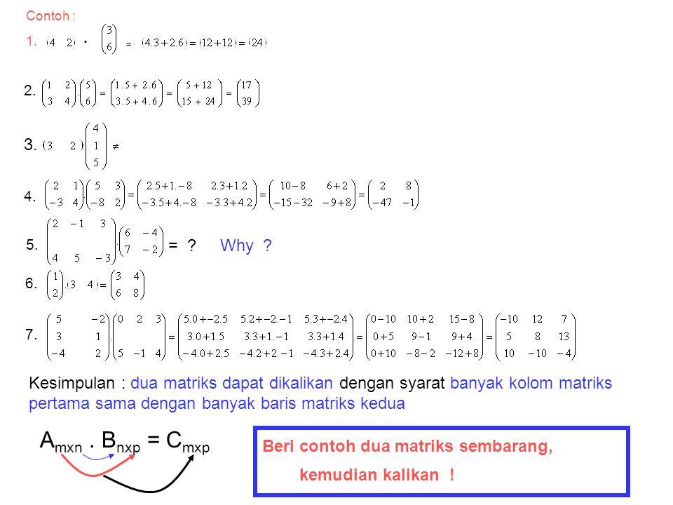 4. Perkalian matriks 1. Pengantar NamaTahuBakwanPermenTahu SantosoBakwan BadrunKrupuk NamaTahuBakwanPermenTahu SantosoBakwan BadrunKrupuk H a r g a 34