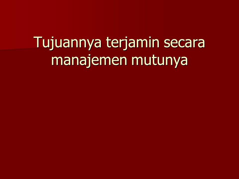 Manajemen mutu meliputi : Mutu Sediaan Farmasi Mutu Sediaan Farmasi Pemeliharaan Mutu Pemeliharaan Mutu Monitoring Mutu Monitoring Mutu