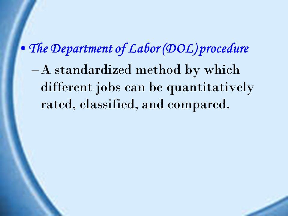 The position analysis questionnaire (PAQ) Kuesioner yang menganalisis pekerjaan yang terstruktur. Berisi 194 items, yang berhubungan dengan elemen-ele