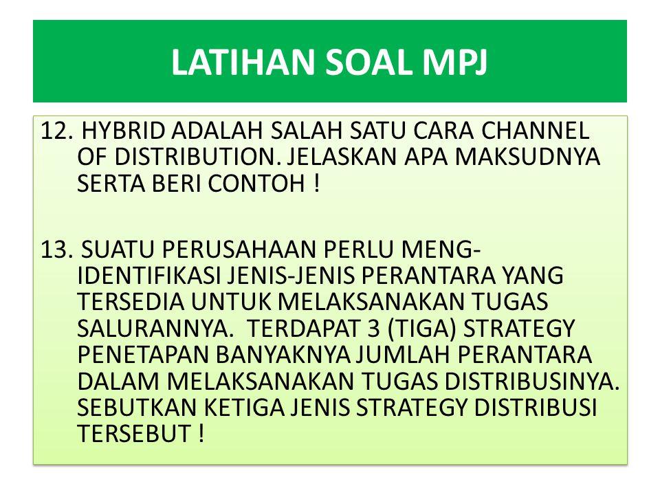 LATIHAN SOAL MPJ 14.