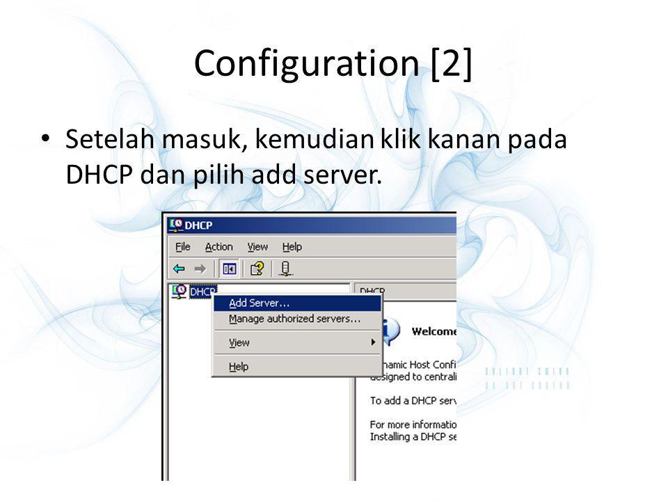 DNS (Domain Name Server) Berguna sebagai penerjemah nama domain ke dalam IP address.