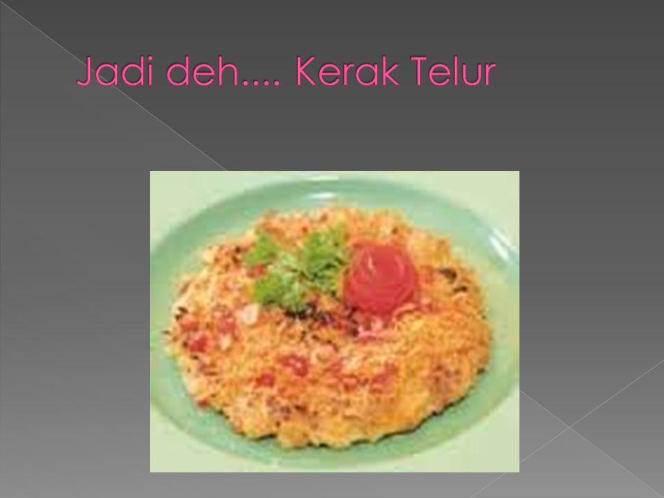 Bahan ronde : 100 gram tepung ketan 100 ml air panas garam secukupnya pewarna makanan warna merah dan hijau secukupnya, jika ingin 3 warna.
