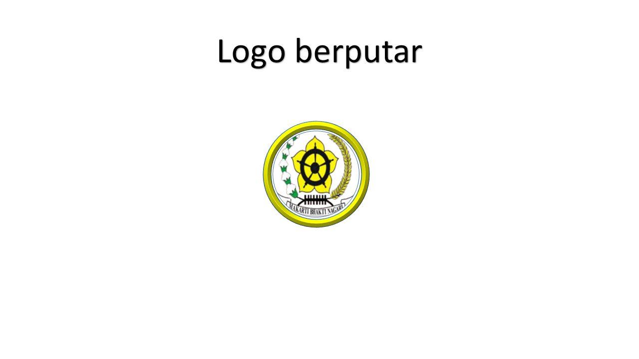Logo berputar dalam cincin Logo berputar dalam cincin 3 komponen yang diperlukan : 1 1.