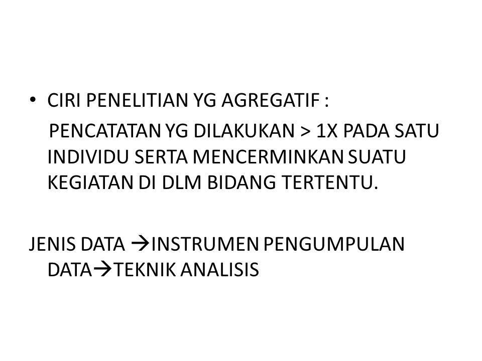 tipe data statistik Qualitative Data (data yg bukan dlm bentuk angka) – Misal : Jenis pekerjaan, tingkat pendidikan Quantitative Data (data yg dinyatakan dlm bentuk angka) – Misal: berat badan, tinggi badan, kecepatan berlari, dll