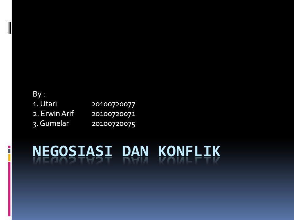 By : 1. Utari20100720077 2. Erwin Arif20100720071 3. Gumelar20100720075