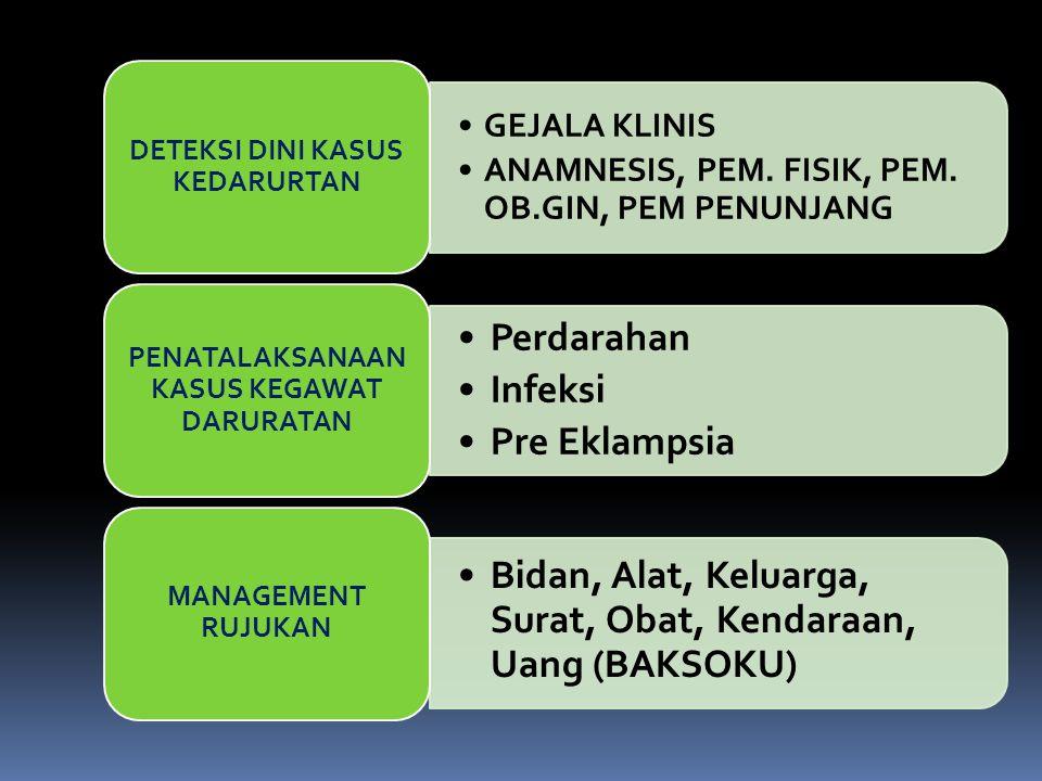 Pencegahan Pemeriksaan antenatal yang teratur dan teliti dapat menemukan tanda-tanda dini pre-eklampsia.