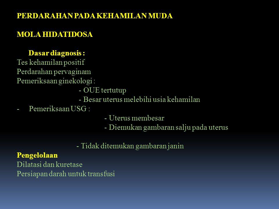 6.INFEKSI LUKA PERINEAL ATAU ABDOMEN nKARENA KURANG BERSIH / PENCEGAHAN INFEKSI BURUK nINFEKSI SUPERFISIAL nAMPISILIN 500 mg ORAL / 6 JAM METRONIDASOL 500 mg / 8 JAM SELAMA 5 HARI