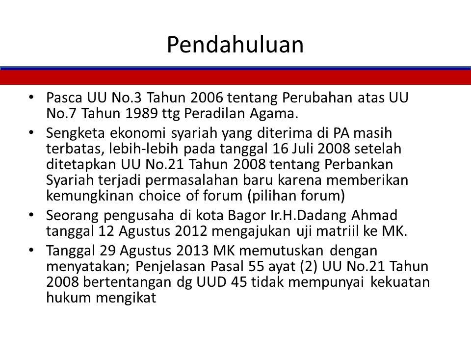 PRODUK DAN JASA BANK SYARIAH Bahrussam Yunus Disampaikan Pada Diskusi I Hakim Tinggi dan hakim dalam Wil III Di PTA Makassar Tgl.3 Januari 2014